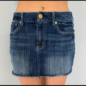 5 for $25  Jeans skirt size 6